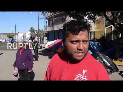 Mexico: Migrants refuse to leave closed down shelter near US border