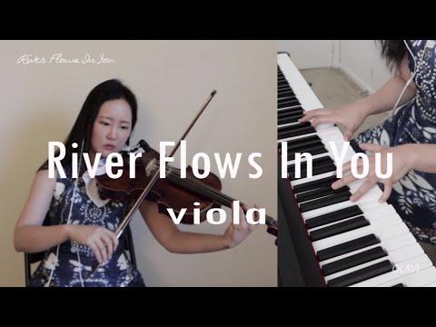 River Flows In You (Yiruma) - Viola, Piano 이루마 비올라 커버
