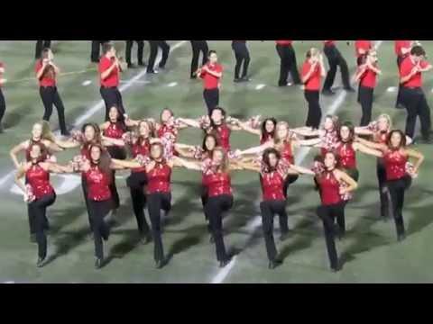 Marist College Dance Team and Spirit Squad at Football Halftime vs Sacred Heart - Sept 19, 2015