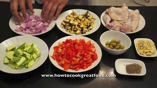 Greek Style Chicken Stew Casserole Recipe How To Cook Great Food Eggplant Courgette Mediterranean