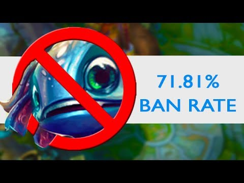 THE MOST BANNED CHAMP IN LEAGUE OF LEGENDS - 71.81% Ban Rate