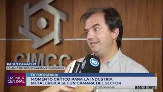 Industriales metalúrgicos declararon el estado de emergencia en el sector