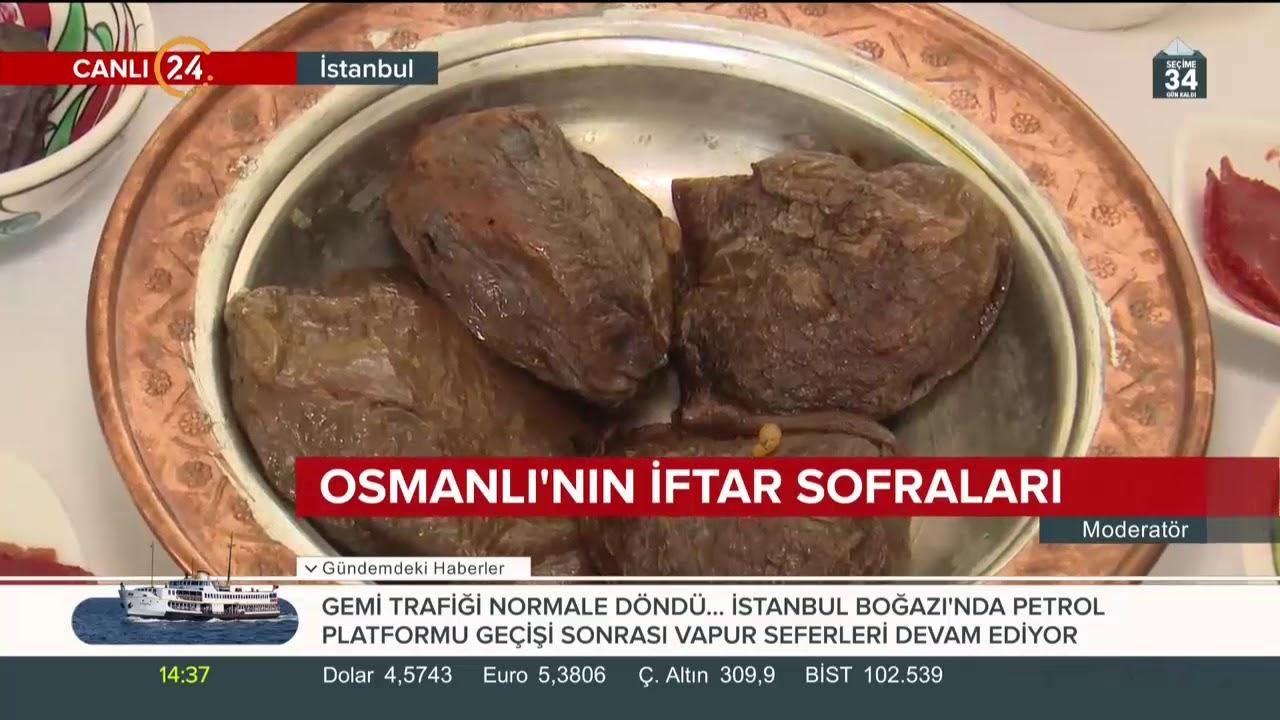 Osmanlı'nın iftar sofraları