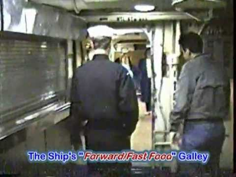 Part 1 Of 8: USS Coral Sea CV-43 - Intro To Ship's Tour -  Totaling 1 Hour