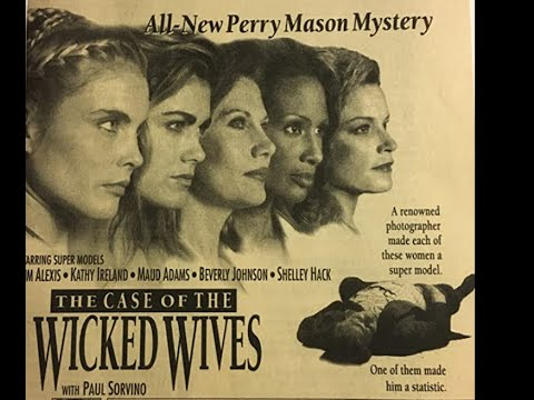 """Download PERRY MASON MOVIE """"The Case of the Wicked Wives"""" - Paul Sorvino - Barbara Hale - 1993"""