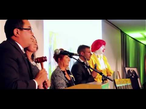 Ronald McDonald & Ray White Rotorua Auction 2014