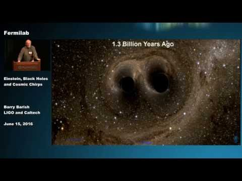 Einstein, Black Holes and Cosmic Chirps - A Lecture by Barry Barish