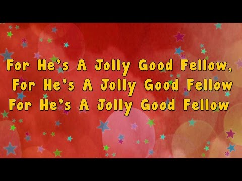 For he's a jolly good fellow | Karaoke Rhymes