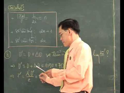 Bài Giao thoa với ánh sáng đơn sắc (P6) - Thầy Nguyễn Đức Hoàng