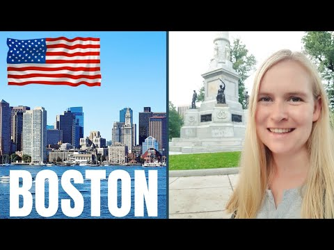German Girl Visits America For The First Time | Boston, United States Travel Vlog