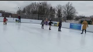 Jewish Community Center of Youngstown cuts ribbon on new community ice rink