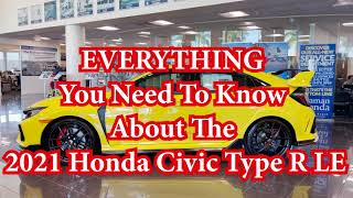 2021 Honda Civic Type R Limited Edition Everything You Need To Know