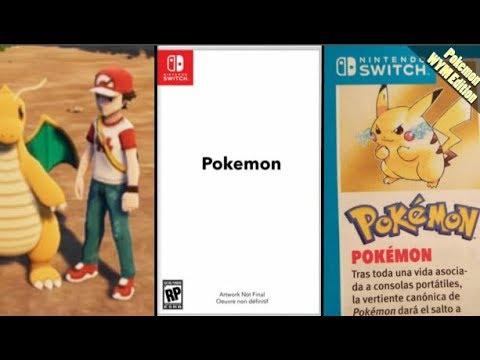 Pokemon Nintendo Switch Gen 8, New Mechanics, Kanto Region Reboot