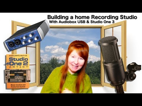Building a Home Recording Studio with AudioBox USB & Studio One 3 - Step 1