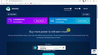New Bitcoin Earning Site 2020 - Claim Site || Claim And Earn Bitcoin Free