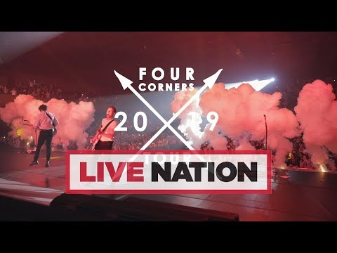 The Vamps Are Heading Out On The Four Corners Tour In 2019! | Live Nation UK