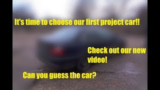 Black Cat Garage - Choosing the project car
