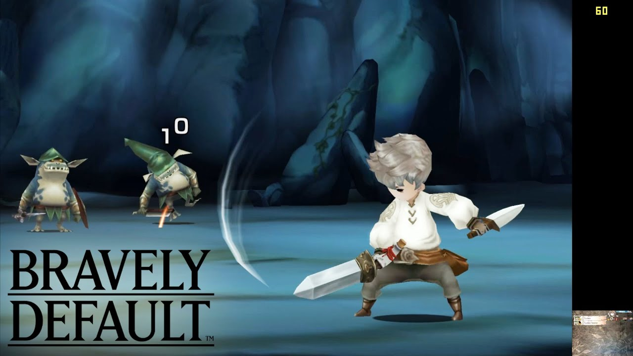Bravely Default | Citra Emulator (CPU JIT) | 1080p HD / 60 FPS / Full Speed  | Nintendo 3DS