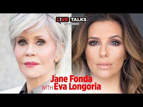 Jane Fonda in conversation with Eva Longoria at Live Talks Los Angeles