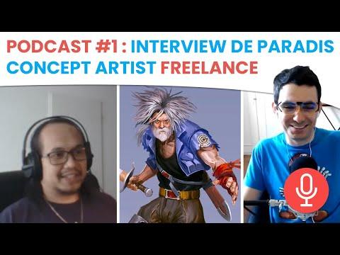 🎙Podcast #1 - Interview de Paradis : Concept Artist
