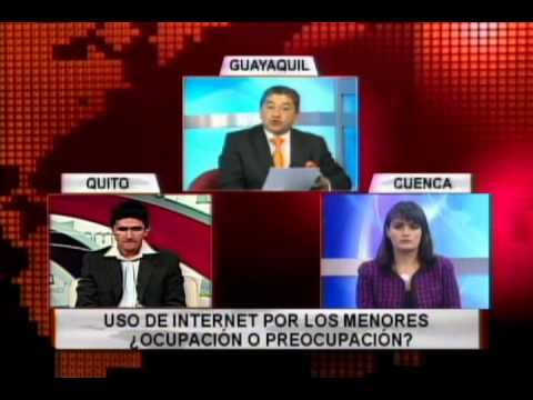 Uso de internet por los menores ¿Ocupación o Preocupación?