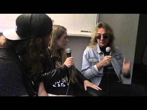 Loper and Randi with Glenn Tipton of Judas Priest