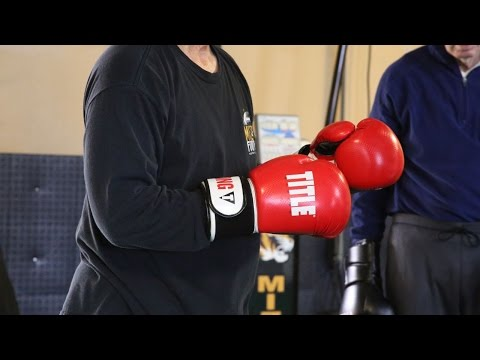 Boxing to fight Parkinson's disease