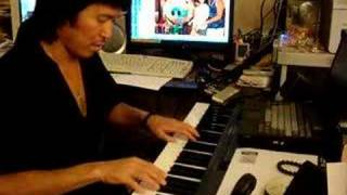 "ye lai xiang on the piano by ""kauai style""  夜来香"