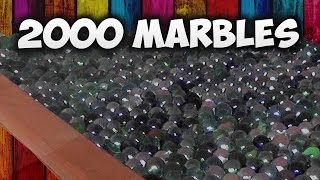 Marble Race Machine 2000 Marbles Race Track