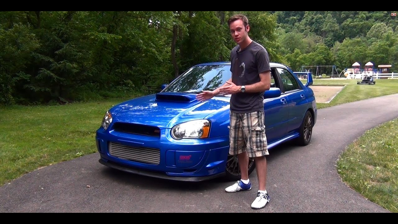 review 2004 subaru wrx sti youtube. Black Bedroom Furniture Sets. Home Design Ideas