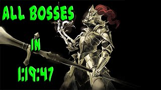 Dark Souls All bosses Speedrun in 1:19:47 IGT