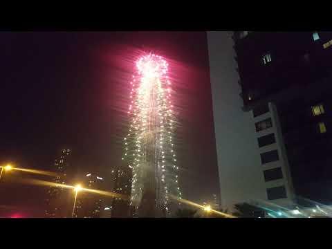 Happy New Year 2019 in Dubai – Burj Khalifa Downtown Dubai New Year's Celebrations 2019