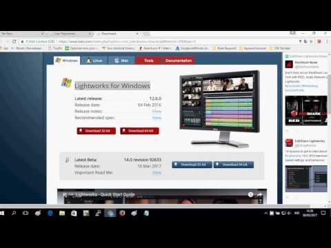Sofware Edit Video Lightworks Tutorial Download FREE FULL CRACK