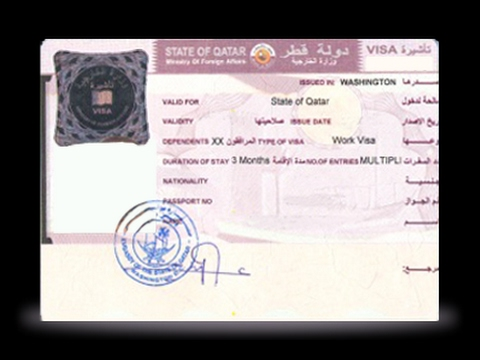 How to check visa for Qatar 2017 new