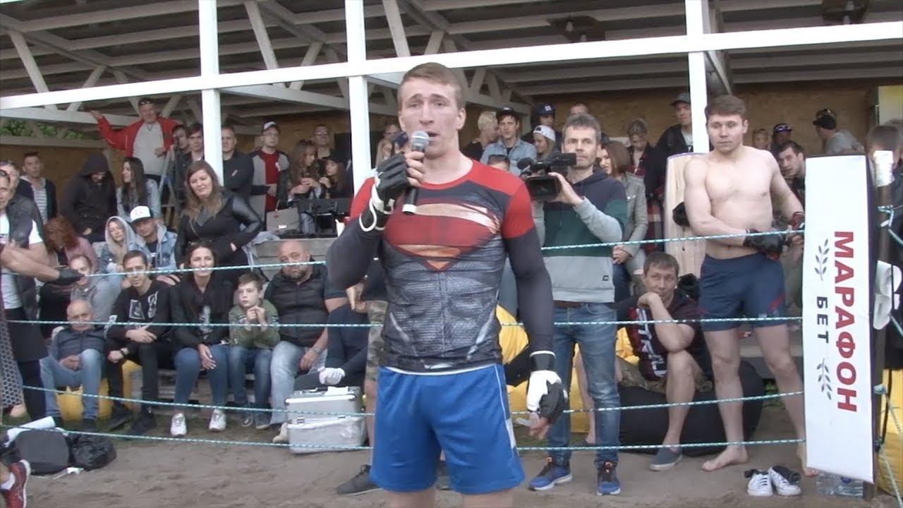 ロシアのスーパーマンがストリートファイトに参加してきた