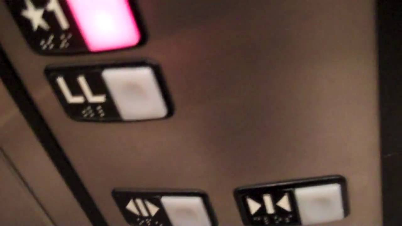SUPER LOUD SCHINDLER 330A Hydraulic Elevator @ H&M, Roosevelt Field ...