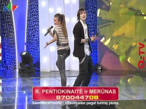 Eurovizijos vaikai Eglė ir Bartas sudainavo populiariausiame Lietuvos projekte (11 laida)