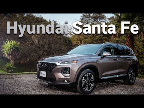 Hyundai Santa Fe - Esta camioneta es toda una revelación | Autocosmos