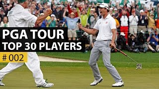 Top 30 PGA Tour Players To Watch In 2016 - Slow Motion - Part 2
