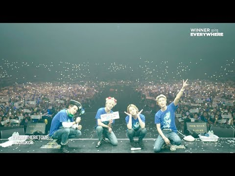 WINNER - EVERYWHERETOUR BACKSTAGE in BANGKOK