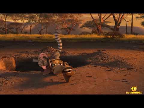 Eu a amo trecho para retrospectiva animada Madagascar  estudio100