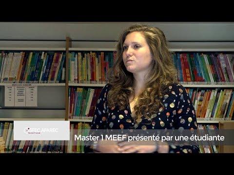Le Master MEEF 1 : rencontre avec une étudiante