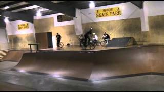 Riders Riding Muncie Skatepark