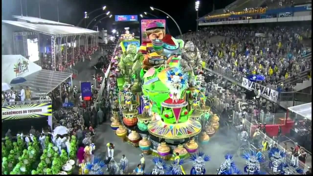 Escola de Samba Acadêmicos do Tucuruvi - Vídeo Despedida Carnaval ... 94809ebd69