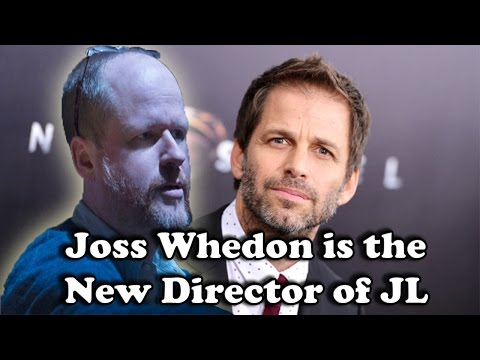 Joss Whedon Replaced Zack Snyder As The New Justice League Director Due to Family Tragedy