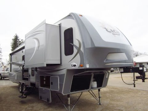 HaylettRV - 2016 Light 311FLR Front Living Fifth Wheel by Open - front living room fifth wheel