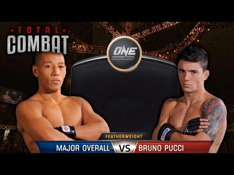 Total Combat | Major Overall vs Bruno Pucci | Full Fight Replay