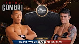 Total Combat   Major Overall vs Bruno Pucci   Full Fight Replay