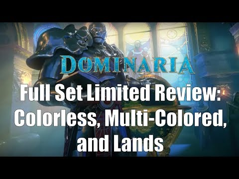 Dominaria Full Set Limited Review:  Multi-Color, Artifacts, and Lands