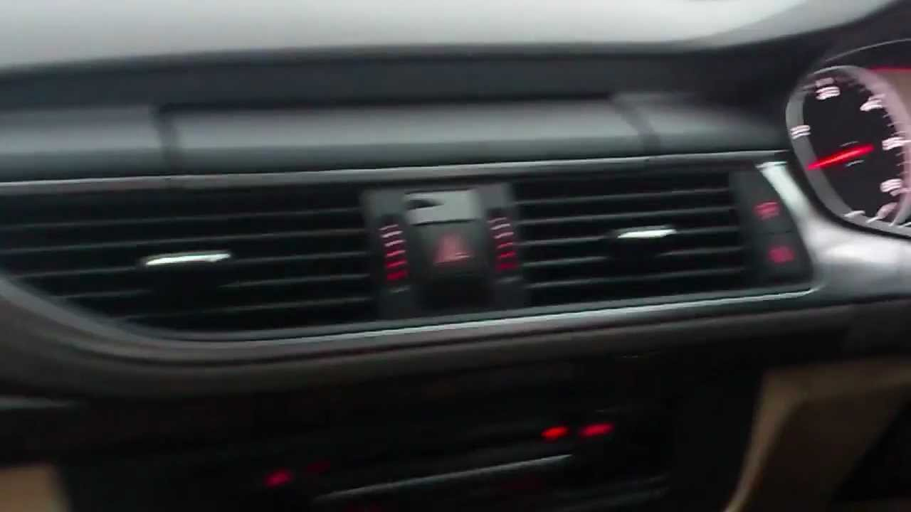 Audi A7 Head Up Display And Night Vision Youtube